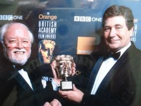 Vic Armstrong With Lord Attenborough