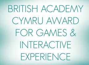 British Academy Cymru Award for Games & Interactive Experience