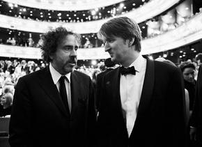 2011 Film Awards - Tim Burton and Tom Hooper