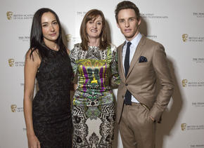 Lisa S, Amanda Berry and Eddie Redmayne