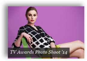 TV Awards Photo Shoot 2014 - Button