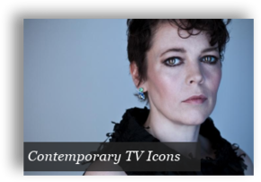 Contemporary TV Icons button