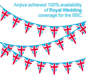 Arqiva Royal Wedding Promo