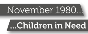 Children in Need banner