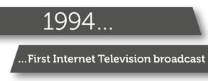 Internet broadcast banner