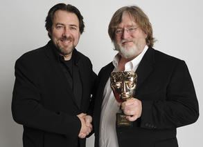 Gabe Newell  - BAFTA Fellow in 2013
