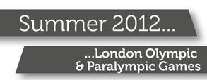London Olympics banner