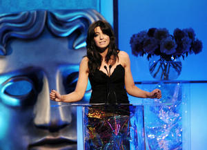 Host Claudia Winkleman opens the British Academy Television Craft Awards in 2008.