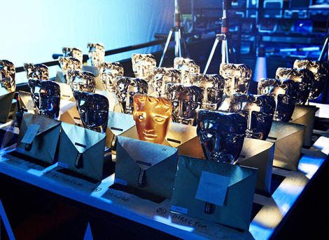 2012 Film Awards masks