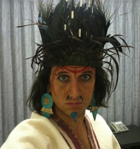 Laurence Rickard: Aztec costume