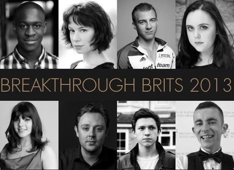 BAFTA Breakthrough Brits 2013