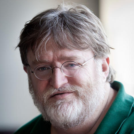 Gabe Newell BAFTA Games Fellowship winner 2013