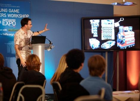 BAFTA Young Game Designers Workshop at Euro Gamer Expo