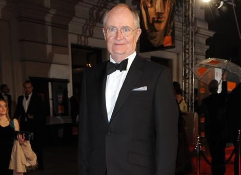 Jim Broadbent at the Orange British Academy Film Awards in 2012