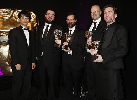BAFTA Games Awards Fellowship in 2014