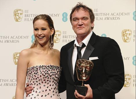 Quentin Tarantino &amp; Jennifer Lawrence