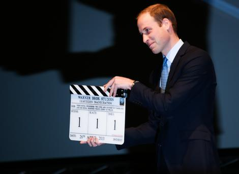 Prince William inaugurates Warner Bros. Studios Leavesden