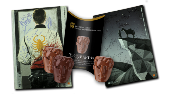 Brochure And Tiddly Baftas
