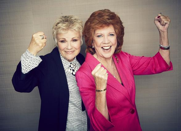 Cilla Black and Julie Walters