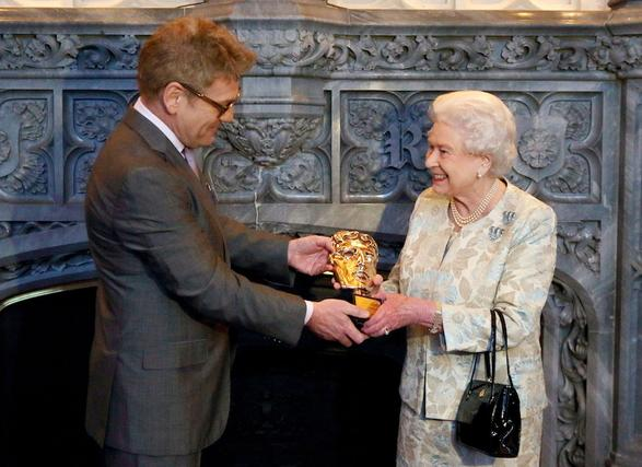 HM The Queen Receives Honorary BAFTA