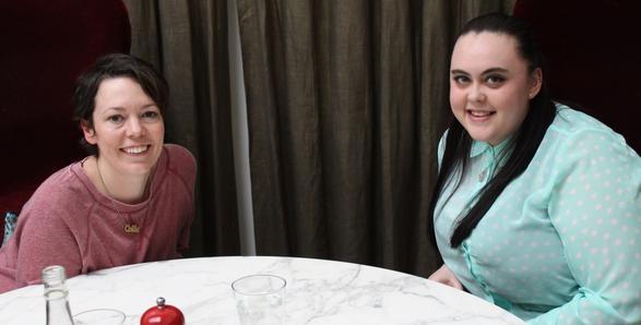 Sharon Rooney & Olivia Colman