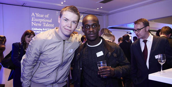Will Poulter and Ade Oyefeso