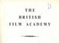 British Film Academy Booklet published April 1948.