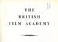 British Film Academy Booklet published April 1948.