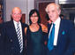 Sir Sydney Samuelson, Lady Lean and John Box at the opening of the David Lean Room in 1999.